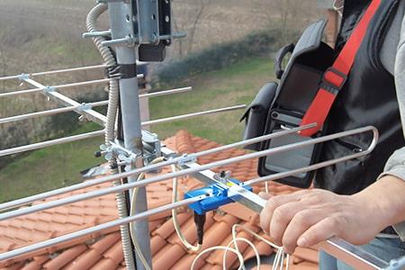 アンテナを長持ちさせる配線工事の技術力