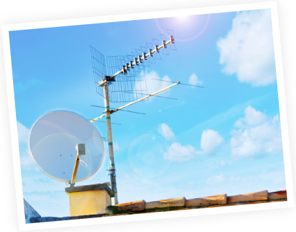 クリアな電波を受信する。高性能アンテナを選定