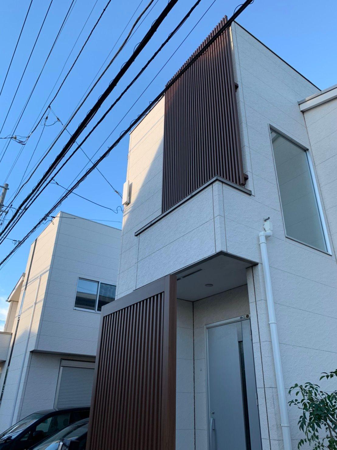 デザインアンテナ 壁面設置(千葉県船橋市)
