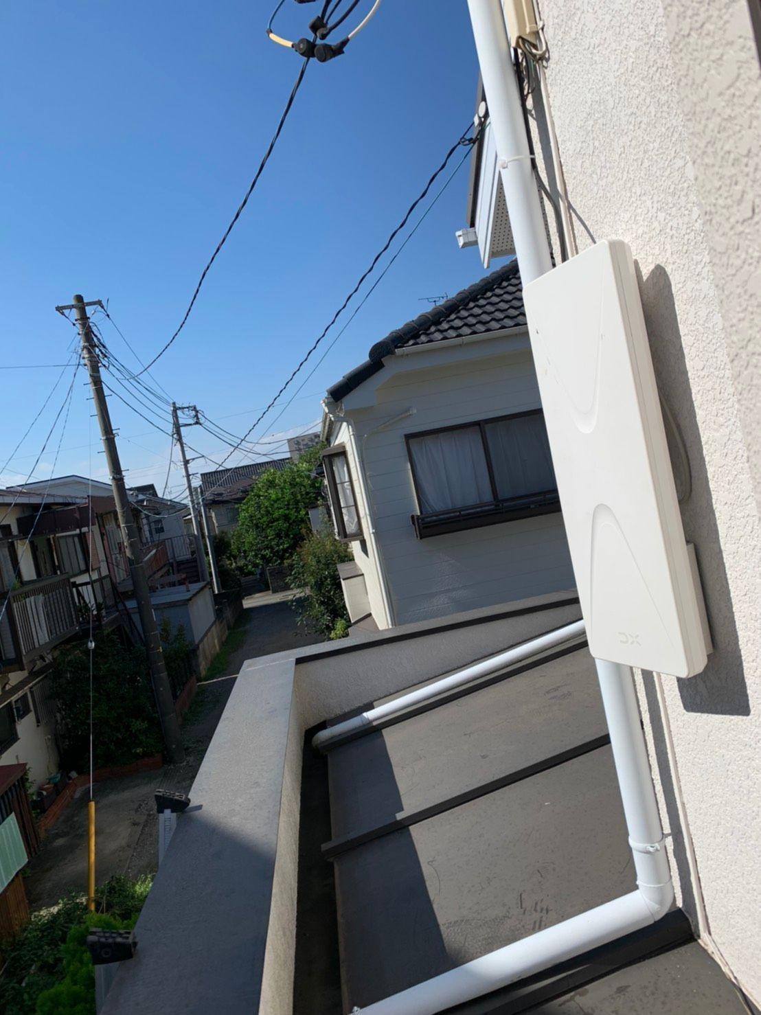 デザインアンテナ 設置(千葉県柏市)