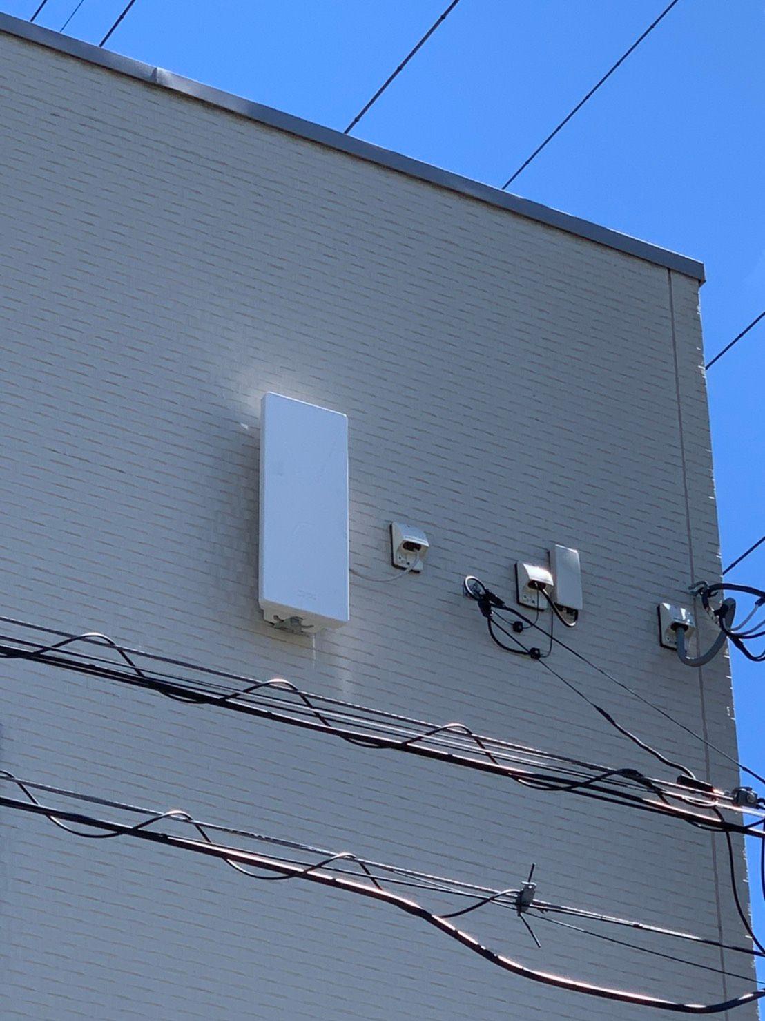 デザインアンテナ壁面設置 DXアンテナ(千葉県市原市)
