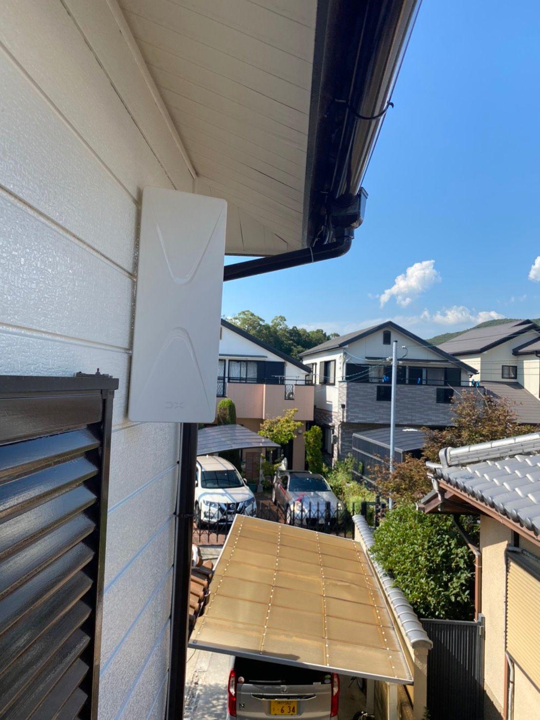 デザインアンテナ壁面設置 DXアンテナ(兵庫県神戸市)