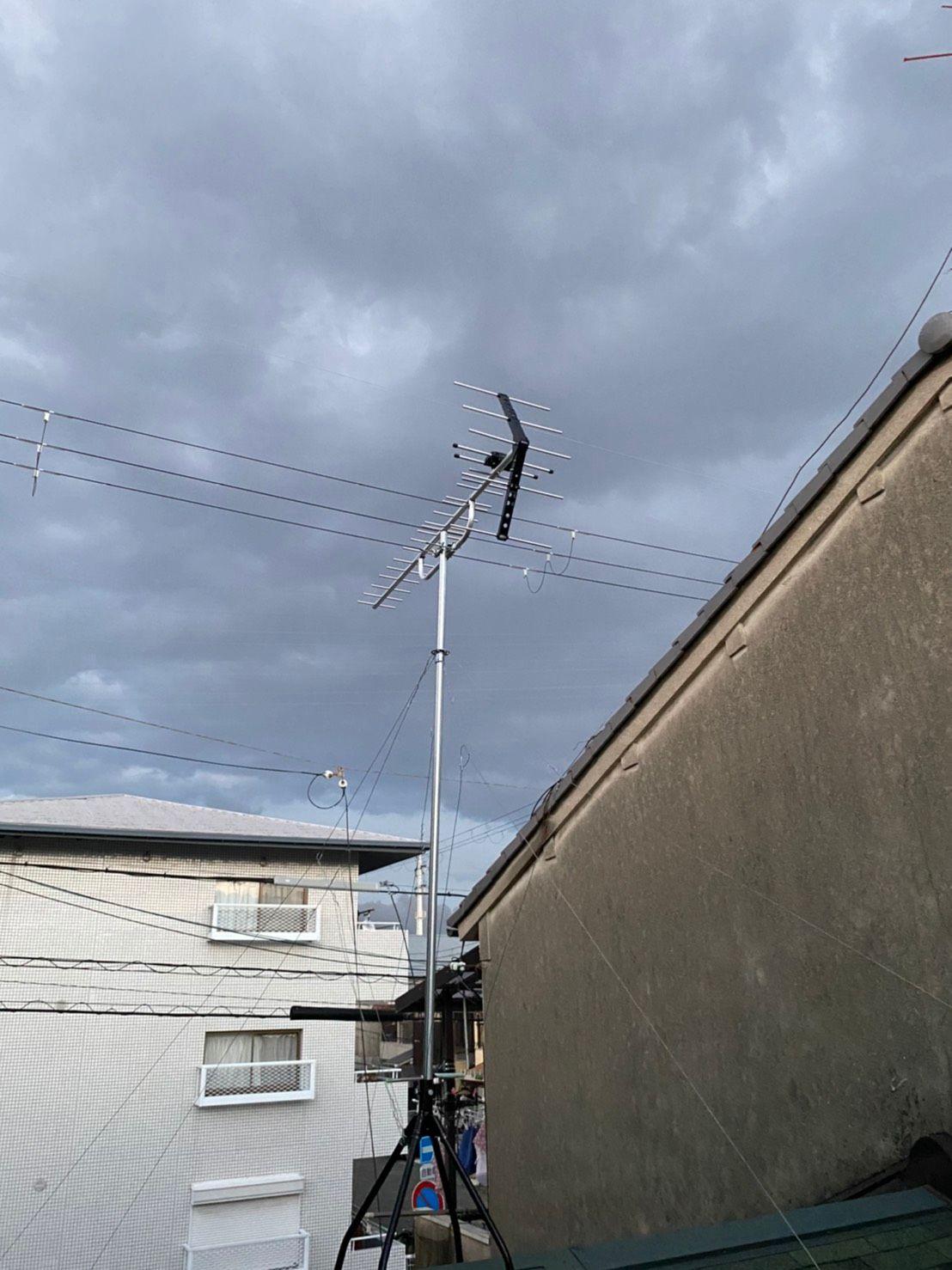 八木式アンテナ設置 DXアンテナ(兵庫県尼崎市)