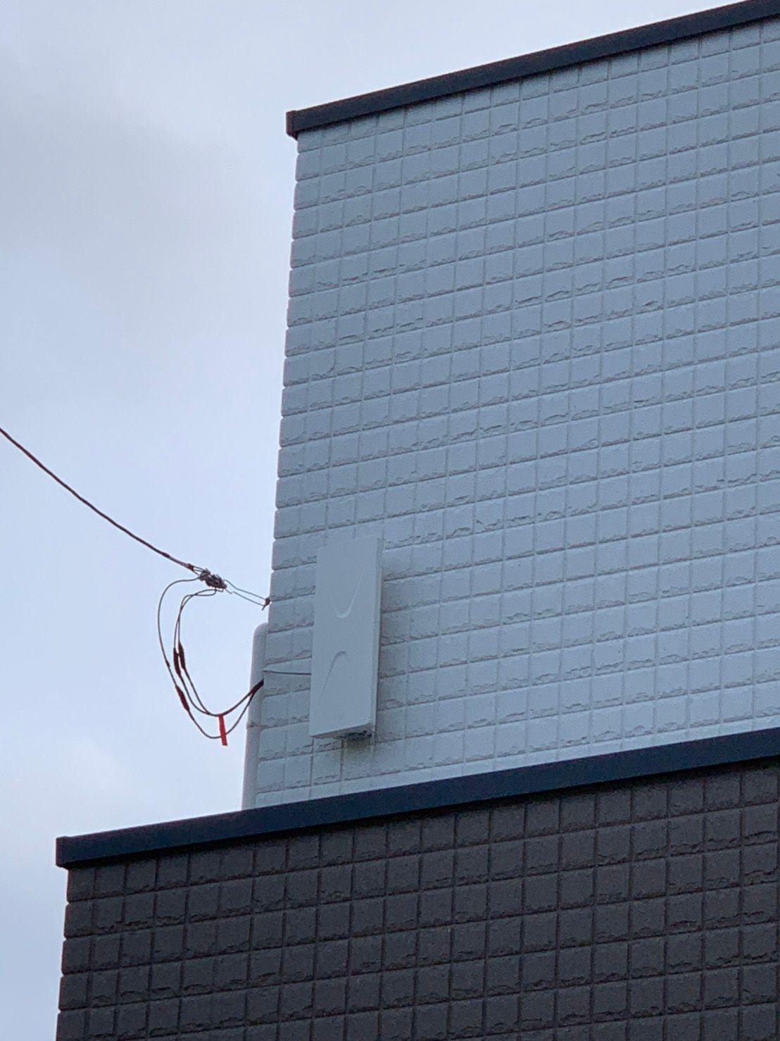 デザインアンテナ 壁面設置(千葉県市川市)