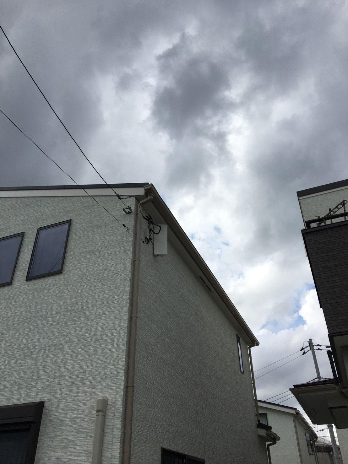 デザインアンテナ壁面設置(千葉県流山市)