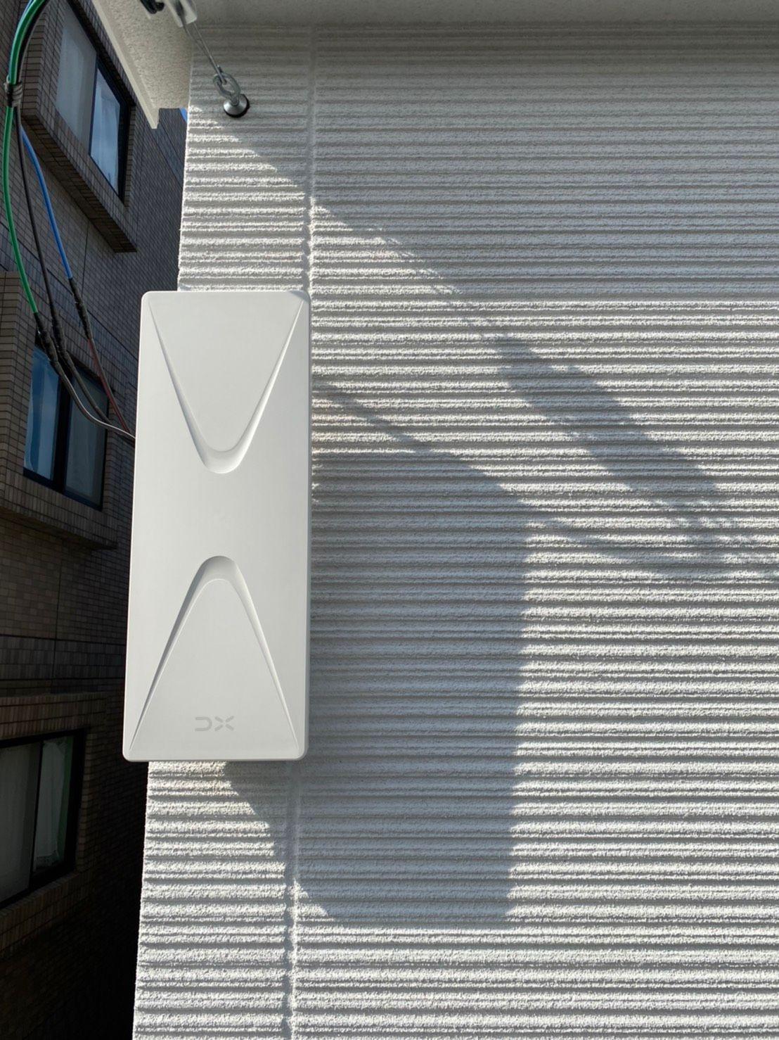 デザインアンテナ壁面設置(兵庫県尼崎市)