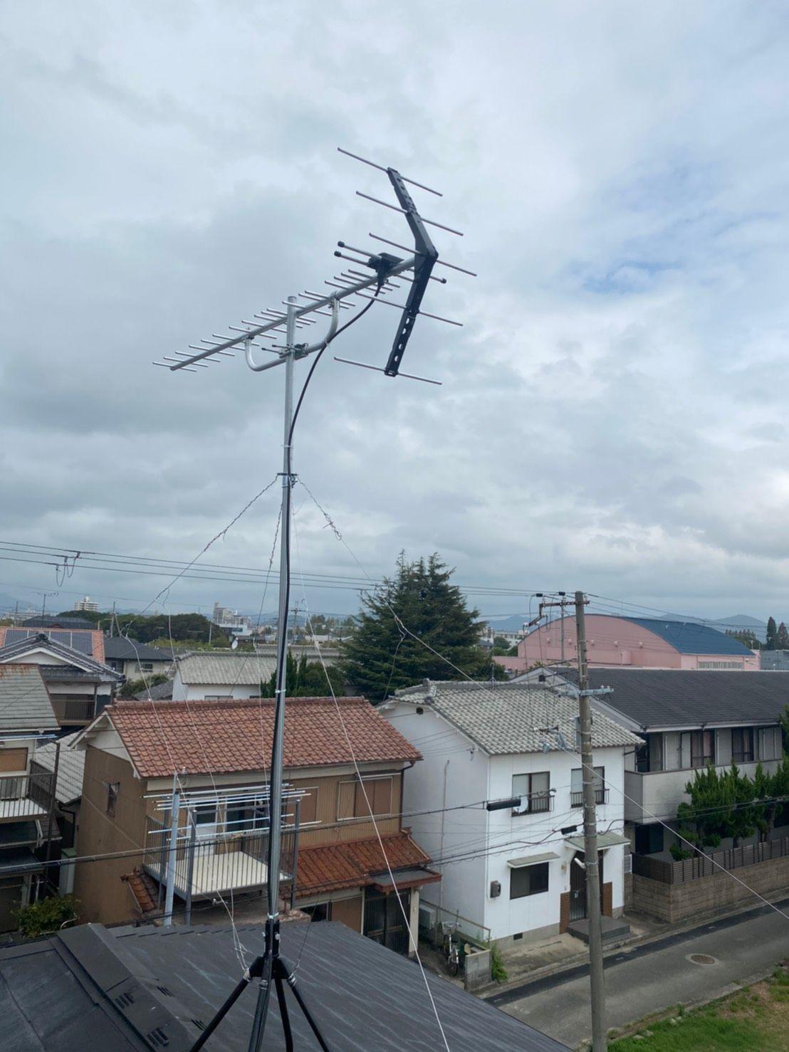 八木式アンテナ設置工事(兵庫県姫路市)