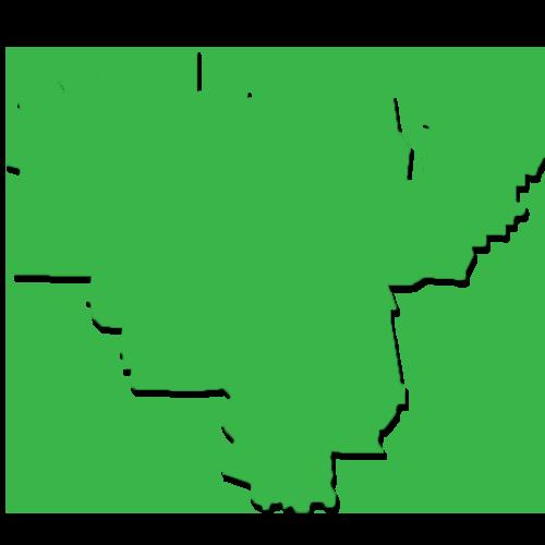 松原市のmap
